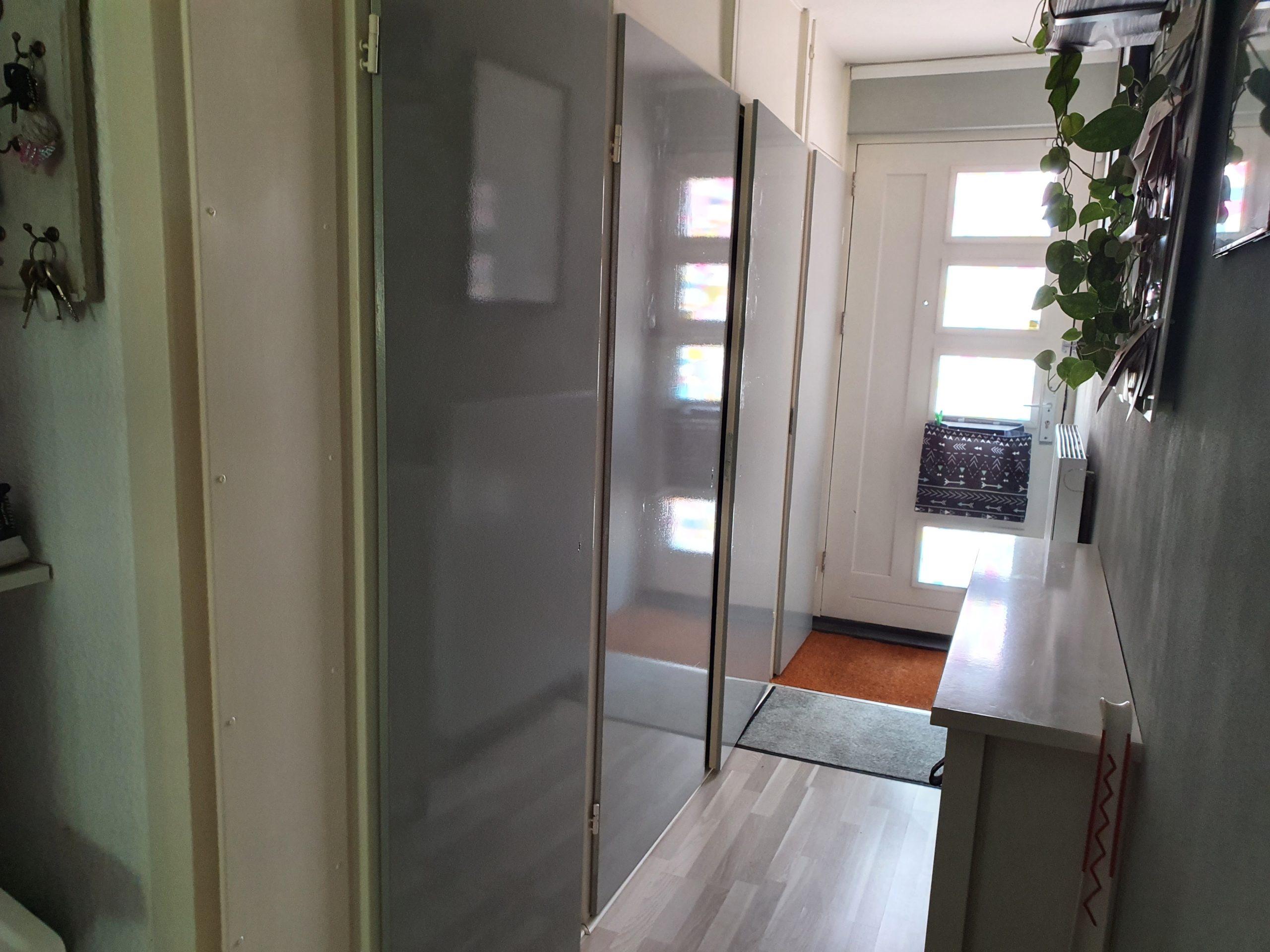 deur wrappen